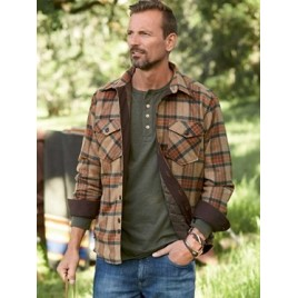Pendleton quilted shirt jack homme