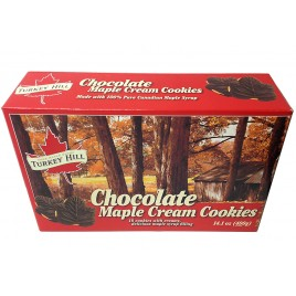 Biscuit au chocolat à la crème d'érable