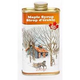 Sirop d'érable ambré bidon métal 100 ml
