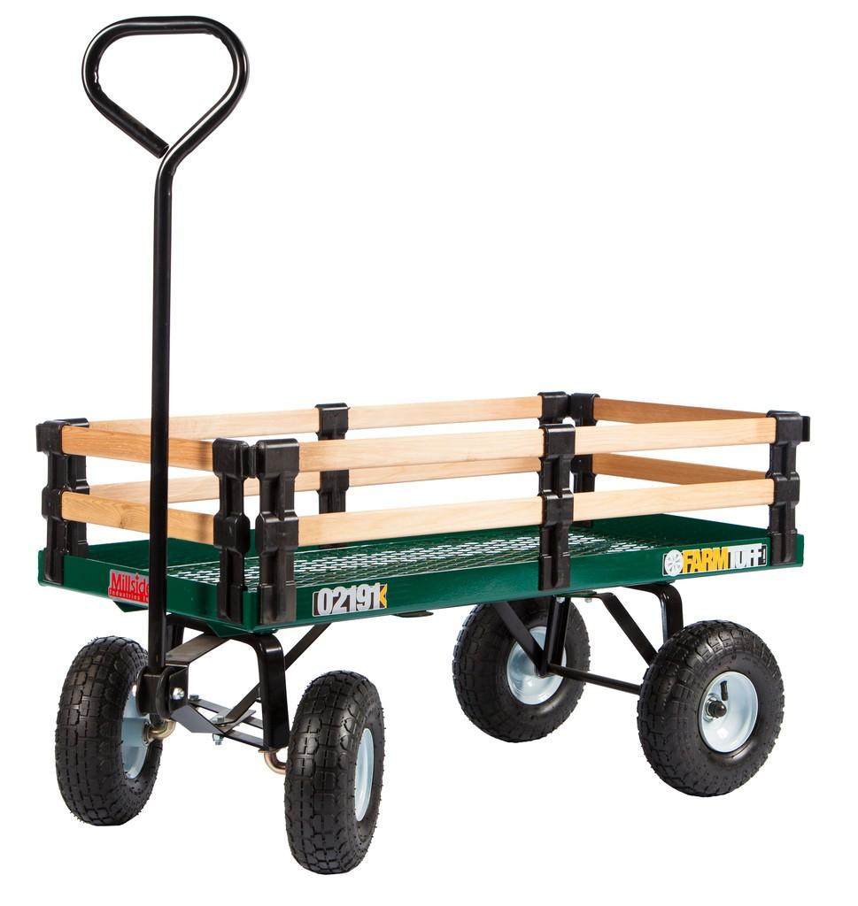 Chariot métal et bois - Transport - Millside | The canadian store