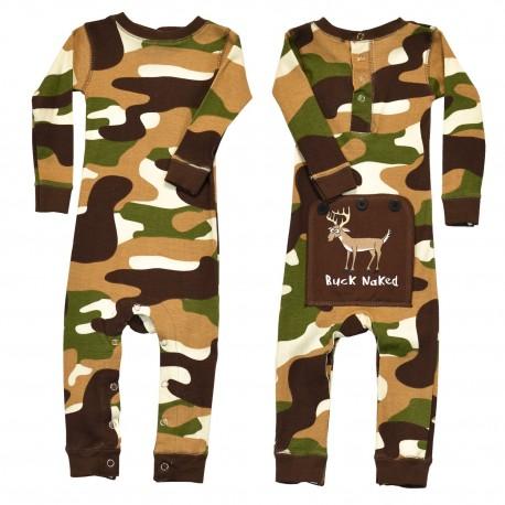 Lazyone - Infant's Buck naked onesie pyjamas