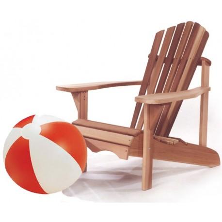 Adirondack / Ottoman chair