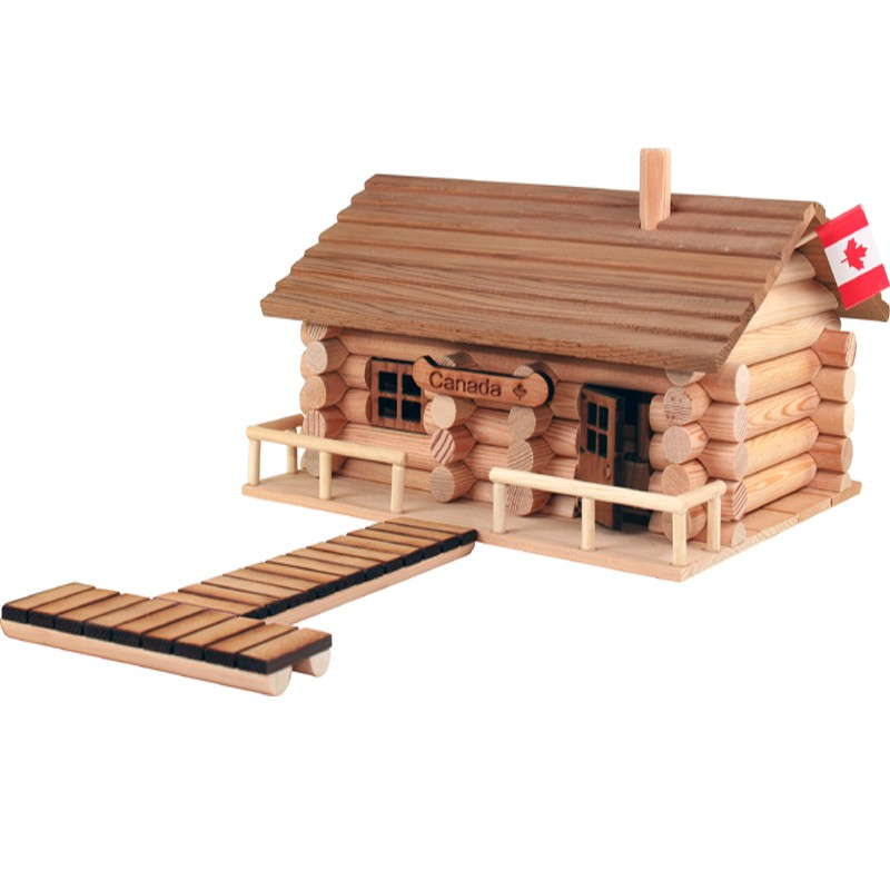 Mini Log Cabins